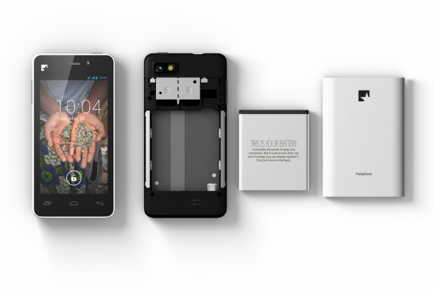 Fairphone in 4 parts, Fairphone, 2014