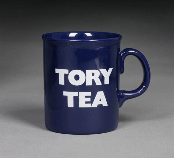 Tory Tea mug, John Tams Ltd., England, 1995
