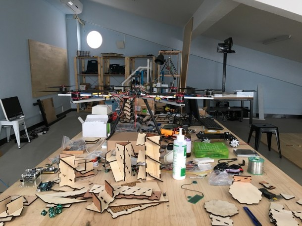 Makers in residence studio at Harbour Primary School, Shenzhen