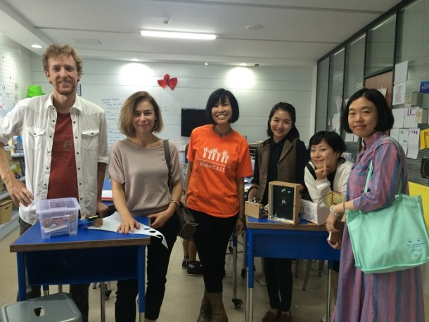 Design Society and V&A staff visit to Shenzhen International American School